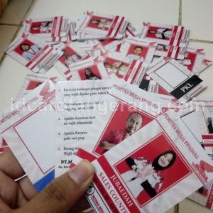 ID Card Pegawai Dealer